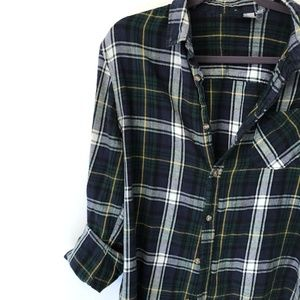 Tops - Cozy Flannel Button Down